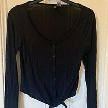 h&m Divided Womens Black Womens Top Eur Size 38 Photo