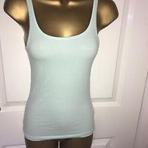 h&m Divided Xs Mint Green Vest Top T-Shirt Scoop Neck Photo