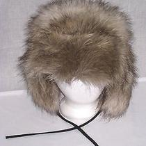 h&m Faux Fur Trapper Ushanka Winer Brown Hat Size Large/58 Photo