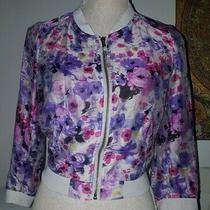 h&m Floral Jacket Size 8 Photo