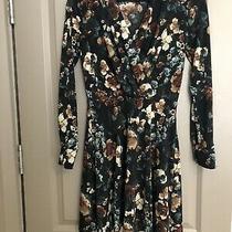 h&m Floral Long Sleeve Dress Xs Photo