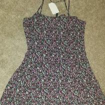 H & M Floral Mini Dress Sz 10  Photo
