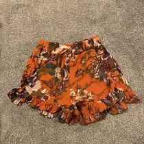 h&m Floral Shorts Size 6/34 Eur Photo