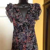 h&m Fun Floral Dress  Size 10 Photo