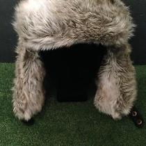 h&m Furry Russian Style Hat Cap With Ear Flaps One Size Fits All Photo