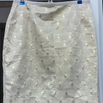 h&m Gold Holiday Skirt Photo