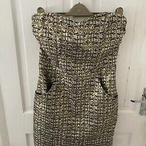 h&m Gold Strapless Dress - Size 12 Photo