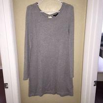 h&m Gray Sweater Dress - Size M Photo