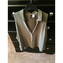 h&m Green Blouse  Photo
