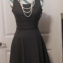 h&m Grey Work Dress Size 2 Photo