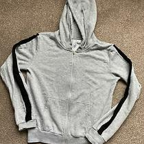 h&m Grey Zip Up Hoodie Jacket Size Xs Photo