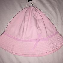 h&m H M Girls Hat 4-6 Pink New Toddler Spring Summer Size 4 5 6 Photo