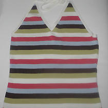 h&m - Halter Top in This Summers' Trendy Colors- 100% Cotton - Photo