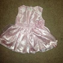 h&m Infant Baby Dress Baby Pink  Photo