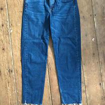 h&m Ladies Blue Denim Jeans Size 12 Photo