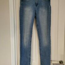 h&m Light Blue Skinny Jeans W29 L32 Photo