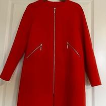 h&m Lightweight Coat - Red - Size 8 - Women Photo