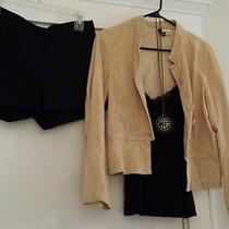 H M Lot of Shorts  Tank Coat and Necklace Photo