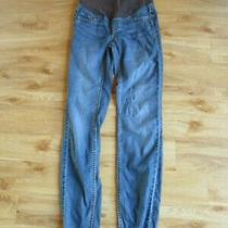 h&m Mama Maternity Blue Over Bump Skinny Jeans Size 8 Photo