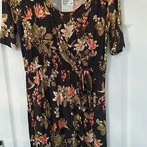 h&m Mama Maternity Nursing Floral Dress Size M New With Tags Photo