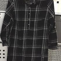 h&m Mama Maternity Shirt Size Large 14 - Black & White Photo
