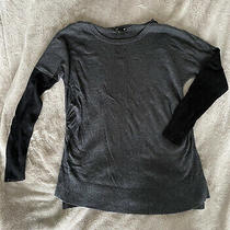 h&m Mama Maternity Soft Black Grey Jumper Large Photo