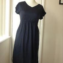 h&m Mama Navy Maternity Dress Size S Photo