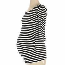h&m Mama Women White Long Sleeve Top S Maternity Photo