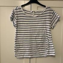 h&m Maternity Mama Stripy T Shirt Size S 8-10 Photo
