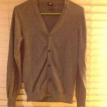 h&m Men's Gray Cardigan Size Xs Cotton Hm  H and M Forever 21 Solid Photo
