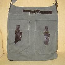 H & M  Military Green Unisex School &  Computer & Messenger & Shoulder Bag  Photo