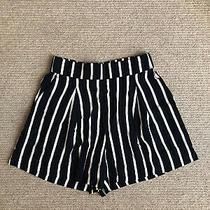 h&m Navy White Stripe Shorts 10 Photo