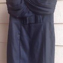 h&m Nice Black Pencil Dress Size 4 Nwt Photo