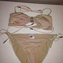 h&m Nude & Gold Bikini Photo