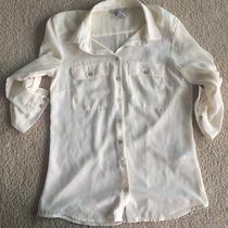 h&m Off White Blouse Size 2 Photo