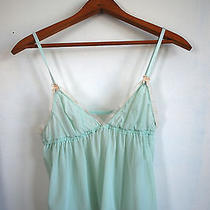h&m Pastel Translucent See Through Babydoll Chemise Nightie Size Small  Photo