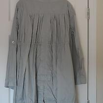 h&m Poncho Jacket Gray Water-Resistant Nylon Size L Photo