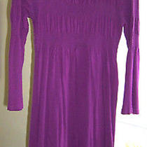 H & M  Purple Knit Dress Size M  Photo