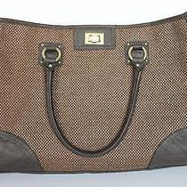h&m Purse Brown With Brown Trim Photo