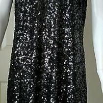 h&m Sequin Mini Dress Size L Photo