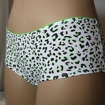 H & M Sexy Women Panty Underwear Lingerie Knickers White Leopard L/ Uk 14/ Us 10 Photo