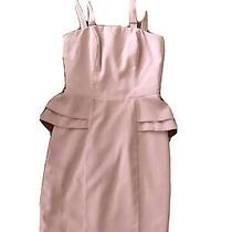 h&m Size 4 Peplum Dress Blush Pink Strapless or With Straps 50 Originally. Nwt Photo