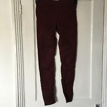 h&m Size 8 Burgundy Jegging Jeans. (S10) Photo