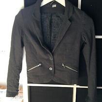 h&m Size 8 Grey Blazer Jacket (M12) Photo