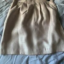 H M Size 8 Rose Gold Skirt  Photo