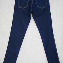 h&m Skinny Low Waist Jeans Sz. 29 X 31.25 Inseam Dark Stretch 165 Photo