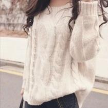 h&m Soft Cream Cable Knit Sweater Xs Photo