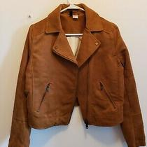 h&m Suede Brown Jacket Photo