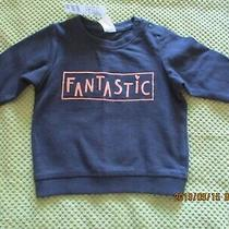 H & M Top With Rose Gold Writing Size 4 to 6 Months Bnwt Photo