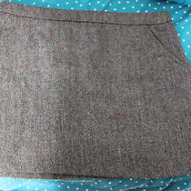 h&m Tweed Mini Skirt Sz 10  Photo